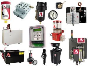 Części do urządzeń pneumatycznych, systemy centralnego smarowania i akcesoria